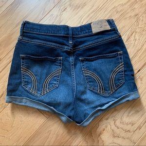 Hollister Shorts - Natural high rise Jean Shorts